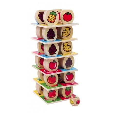 zabawka kreatywna Owocowa wieża